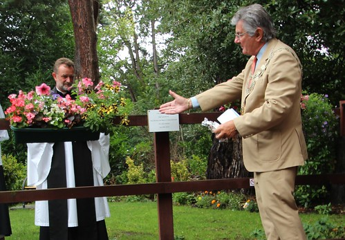 Mayor of Bournemouth Opening Sensory Garden July 2015 by Chris Colledge