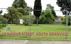 19,21,23,29,31 NAMUR STREET, South Granville NSW