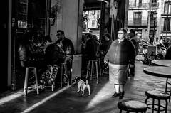 Follow the light #streetphotography #mercatdelaboqueria #blackandwhite #barcelona (sergiguisa) Tags: barcelona blackandwhite streetphotography mercatdelaboqueria
