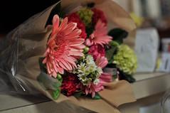 Flowers for mom (cmonitsjayar) Tags: roses plant flower love beautiful loving mom nikon pretty heart bokeh gift bouquet