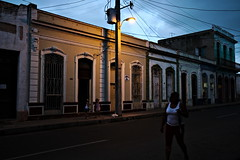 Cienfuegos 201504522 (t3mujin) Tags: street city sunset people woman building architecture female america dusk cuba places location caribbean cienfuegos centralamerica conditions uploadedviaflickrqcom