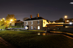 The Top Lock, Perry Barr, Birmingham 06/11/2015 (Gary S. Crutchley) Tags: uk travel england urban west heritage history night dark ed evening town canal birmingham nikon long exposure raw slow nightscape shot nightshot image time britain cut lock top united great bcn cottage kingdom s junction valley shutter and after local nightphoto af nikkor scape townscape inland perry tame navigation westmidlands narrowboat waterway barr walsall midlands d800 1635mm nightimage nightphotograph f40g essington wyrley canalscape