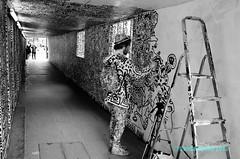 London E1+E2 2015 - Doodle Man (DonCampeon) Tags: street urban streetart color pasteup art wall painting graffiti artwork stencil sticker stickerart mural artist arte grafiti handmade character wheatpaste tag stickers streetphotography murals streetlife wallart spray urbanart crew installation animation roller spraypaint walls graff piece aerosol tagging stencilart legal artworks graffitiart mytag photooftheday wildstyle sprayart handstyle urbanwalls postgraffiti buildinggraffiti yarnbombing streetartistry instagraffiti tagsforlikes doncampeon