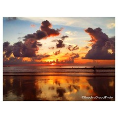 Kuta beach #sunset taken with a #iPhone3gs