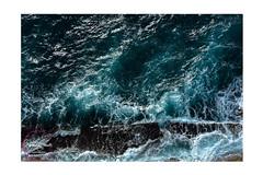 Stormy Sea. (Marilena Zannotti) Tags: blue sea nikon rocks mare stormy foam napoli scogli schiuma d5200