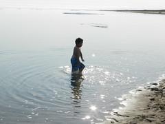 Going swimming at Long Point August 2015 37 (cambridgebayweather) Tags: swimming nunavut cambridgebay arcticocean susansim