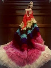MAISON CELESTIA #alexandermcqueen #FashionRoyaltyDollThailand #rainbow #maisoncelestia (maison_celestia) Tags: rainbow alexandermcqueen maisoncelestia fashionroyaltydollthailand