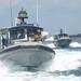 Sailors conduct a patrol in the Gulf of Tadjoura, Djibouti.