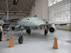 "Messerschmidt Me-262A 1 • <a style=""font-size:0.8em;"" href=""http://www.flickr.com/photos/81723459@N04/24981097113/"" target=""_blank"">View on Flickr</a>"