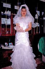 Selime trying out wedding outfit, Polyanovo, Bulgaria (ali eminov) Tags: indoors bulgaria dresses gowns selime bridalgowns bulgaristan polyanovo