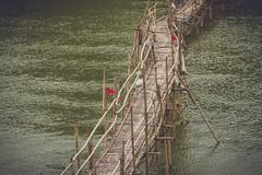 (c) Wolfgang Pfleger-9989 (wolfgangp_vienna) Tags: bridge river asia asien bamboo khan laos brcke luangprabang nam luang prabang bambus namkhan