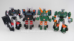 Transformers Hoist Deluxe - Generations Takara - modo robot vs otros Hoists & Trailbreaker (mdverde) Tags: deluxe transformers g1 generations takara autobots hoist trailbreaker