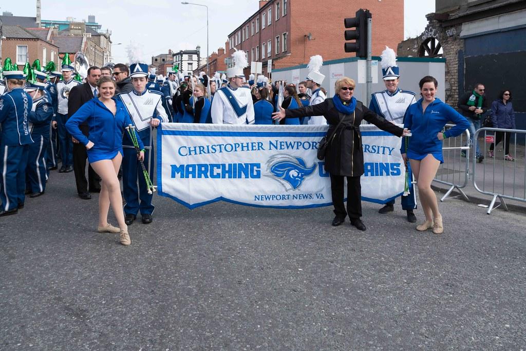 Christopher Newport University Marching Captains-112408