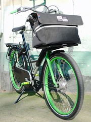 WorkCycles Fr8 Straight TimTas Porteur (@WorkCycles) Tags: dutch amsterdam bike bicycle bag rack tas fietsen fiets fr8 porteur drager transportfiets workcycles timtas voordrager