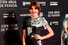 """Angy en la premiere de """"Cien años de perdón"""" en Madrid"""