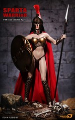PHICEN PL2015-97 Sparta Warrior - 230449ha53jkkzug9k55v5 (Lord Dragon 龍王爺) Tags: hot toys actionfigure doll seamless femalebody onesixthscale 16scale phicen 12inscale