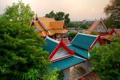 Wat Phra Pathom Chedi, Nakhon Pathom, Thailand (Ashit Desai) Tags: city blue light sunset people thailand temple evening pagoda buddha buddhist culture buddhism monks thai wat phra chedi desai tallest 2016 nakhon pathom ashit