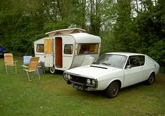 Renault 17 TL 28-6-1973 56-FJ-PJ & Otten caravan (Fuego 81) Tags: 1969 renault 17 caravan 1973 trekker otten r17 56fjpj