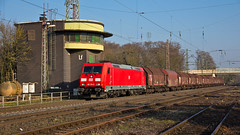 DB 185 374 on GM60361 to Kreuztal at Lintorf (37001 overseas) Tags: gm dortmund ratingen kreuztal 60361 lintorf 185374 sahimms ratingenlintorf obereving 1853746 gm60361