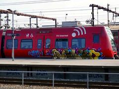 Graffiti in Copenhagen 2016 (kami68k -all over-) Tags: copenhagen kopenhagen 2016 graffiti illegal bombing train bunt dsb relkd panel