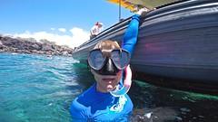 Nice Glasses (minimi007) Tags: sea summer woman water sunshine outdoors hawaii boat us day diving maui scubadiving lanai watersport gopro goprohero kesa snorkeln gopro4 gopro4black