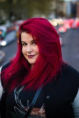 Elena (Jantbrown) Tags: madrid she red portrait espaa beautiful beauty hair rouge mujer chica retrato ella ciudad tinte coches pelirroja pelirrojo pelo espaola rjo pelorrosen