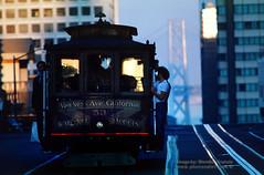 California Street, Nob Hill, 1978 (Vern Krutein) Tags: california usa rail muni transportation vehicle 1978 1970s 53 californiastreet nobhill cablecars sanfranciscomunicipalrailway vrcv01p0112 cablecarheadon