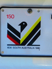 South Australia - Speical '150' Number Plate (RS 1990) Tags: 150 special licenseplate adelaide 1986 southaustralia numberplate 2016 1836