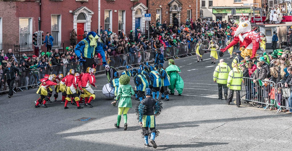 GAME ON BY CITY FUSION [DUBLIN 2016 PATRICK'S DAY PARADE]-112561