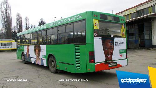 Info Media Group - Benetton, BUS Outdoor Advertising, Sarajevo 03-2016 (2)