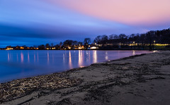 Colours at night (mathiasboman) Tags: longexposure sunset seascape clouds canon sweden outdoor shoreline nordic sverige vttern waterscape motala stergtland landscapephoto canon6d