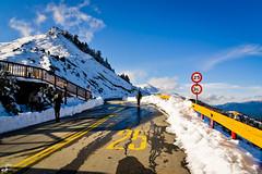 Highest Highway In Taiwan II: Snow (Nantou, Taiwan) (Heikki Matti Aaltonen) Tags: wild mountain snow nikon highway taiwan fx  nantou 2016 snowmountain d610 highway14 2485mm hehuanshan route14 hehuanmountain