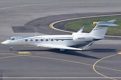 Bank Of Utah Trustee Gulfstream 650 N650GY (c/n 6144) (FNF_VIENNA - Vienna-Aviation.net) Tags: vienna wien airport 650 flughafen vie gulfstream schwechat loww g650 nreg glf6 n650gy