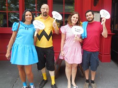 Peanuts (Wrath of Con Pics) Tags: cosplay peanuts charliebrown dragoncon sallybrown lucyvanpelt linusvanpelt dragoncon2015