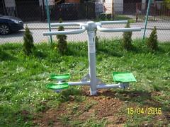 Twister i stepper (osiedlelekarka) Tags: na plac zabaw silownia lekarka osiedlu zewntrzna
