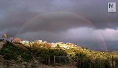 Camino al Edn? - beda (Juan de la Cruz Moreno Balboa) Tags: arcoiris paisaje cielo nubes vistas jan huerta beda janparasointerior