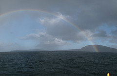 IMG_4283_IMG_4294 (Jan Egil Kristiansen) Tags: panorama rainbow kayaking faroeislands autopano trshavn img4294 img4283