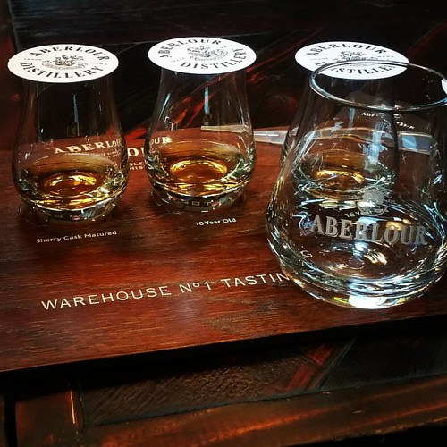 Charming brief tour followed by a  excellent tasting at Aberlour distillery.