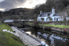 Crinan Canal (perkster24) Tags: travel scotland canal cottage hdr crinancanal crinan travelphotography argyleandbute hdrphotography