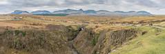 Waterfall Landscape Pano (Miquel Gomis) Tags: scotland panoramica paisaje landscape waterfall cascada escocia