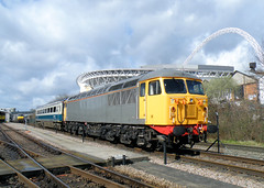 56081 (R~P~M) Tags: uk greatbritain england london train diesel unitedkingdom shed railway depot locomotive 56 wembley chilternrailways