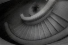 The way through a pinhole (SolanoSnapper) Tags: northerncalifornia winery staircase winecountry napacounty pinholephotos opusonewinery werehere oakvilleca hereios