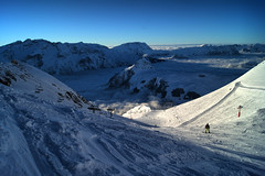 Enter the devil (eye see sound) Tags: winter snow france alps landscape frenchalps l2a lesdeusalpes