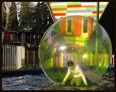 Inside his world (Mary-Franky, back now but still very busy:)) Tags: boy people game children fun kid bubble