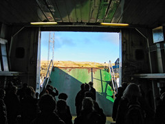 Opening the festival (Jan Egil Kristiansen) Tags: ferry ramp faroeislands heima cardeck disembark bildekk nlsoy ternan img4239 ow2264 imo7947154 heimanlsoy2016 heimafestival