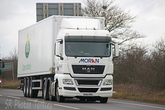 MAN Moran DA62 BVL (SR Photos Torksey) Tags: road man truck transport lorry commercial vehicle moran freight logistics haulage hgv lgv