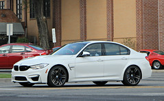 BMW M3 (F80) (SPV Automotive) Tags: white sports car sedan exotic bmw f80 m3