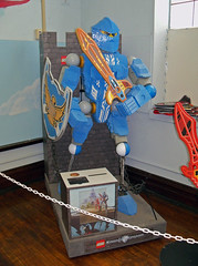 OH Bellaire - Toy & Plastic Brick Museum 63 (scottamus) Tags: ohio sculpture statue lego display roadside bellaire attraction belmontcounty toyplasticbrickmuseum