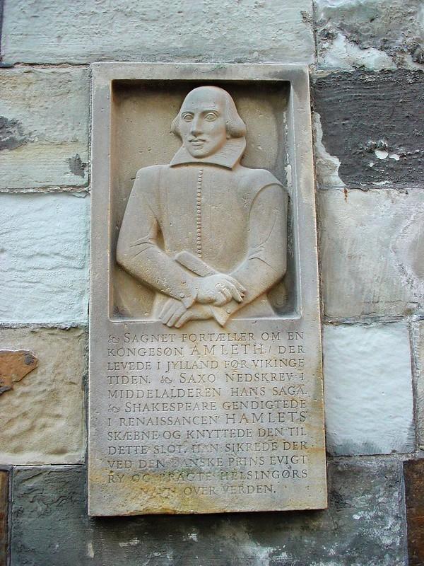 克倫堡Kronborg的莎士比亞紀念