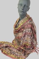 animal print shawl (Zip Eye) Tags: shawl handwoven 40shaftdesign